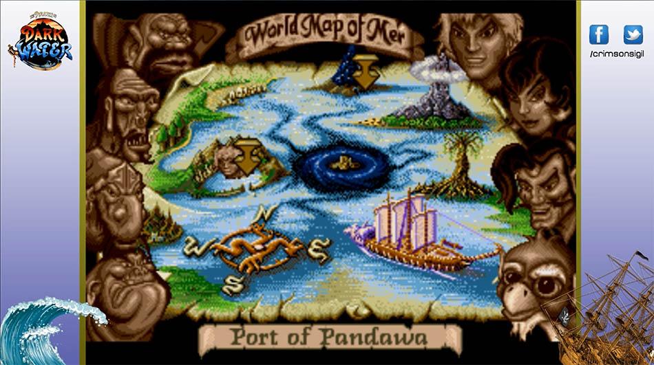 pirates of dark water sega genesis