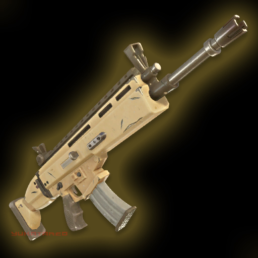 Fortnite Gold SCAR
