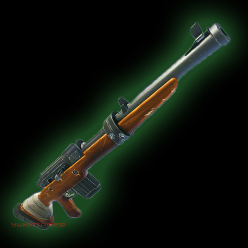 Image result for green hunting rifle fortnite