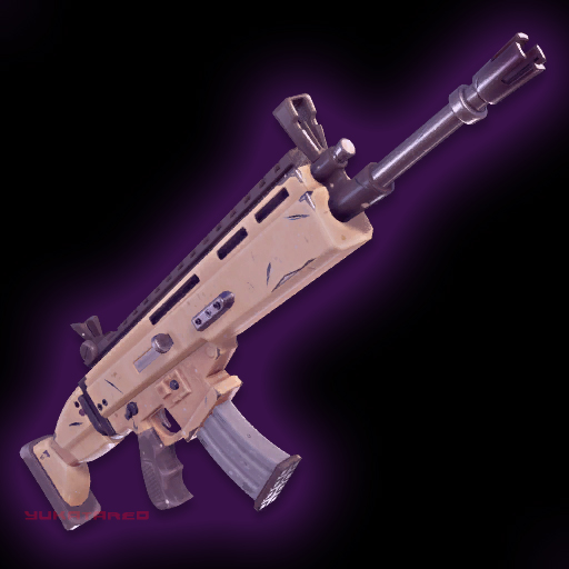 Fortnite Purple Scar