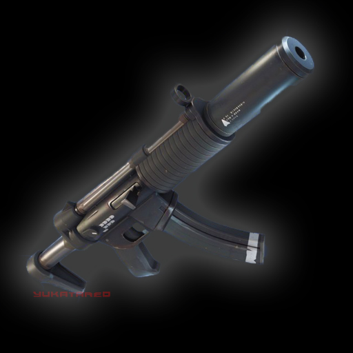 Fortnite Suppressed SMG Common