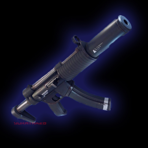 Fortnite Suppressed SMG Rare