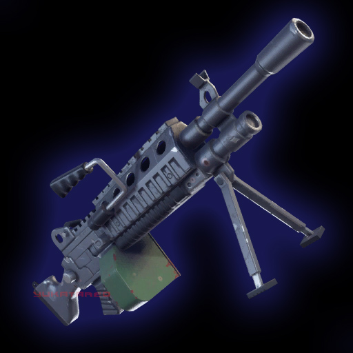 Fortnite Light Machine Gun Rare