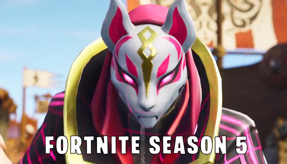 fortnite season 5 kitsune - fortnite season 5 pictures